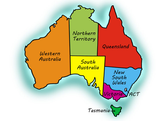 Map Of Australia For Students.Ielts Practice Tests Plus 1 Reading Practice Test 4