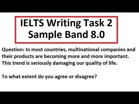 Ielts essay questions