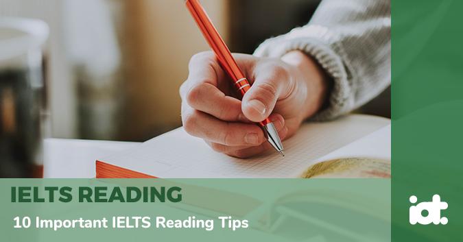 10 Important IELTS Reading Tips