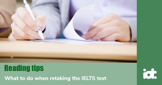 What to do when retaking the IELTS test