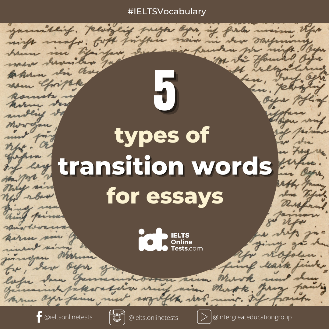 Transition Words and Definitions, Transition Words For Essays