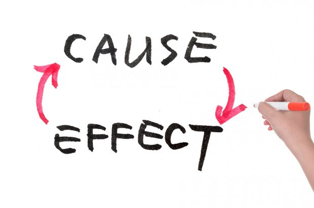how to write cause and effect paragraph