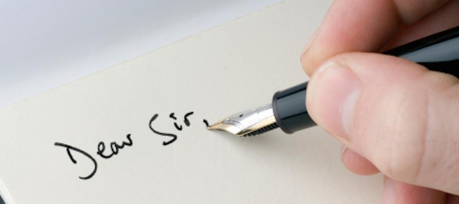 Letter Writing: Explaining a Situation