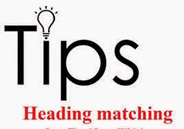 How to Do Matching Heading Type of Questions in IELTS Listening?