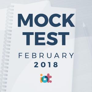 IELTS Mock Test 2018 - February