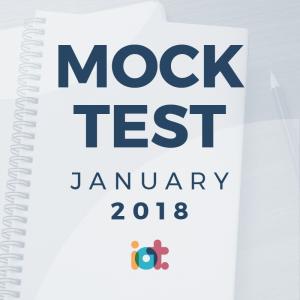 IELTS Mock Test 2018 - January