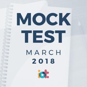 IELTS Mock Test 2018 - March