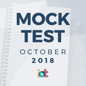 IELTS Mock Test 2018 - October