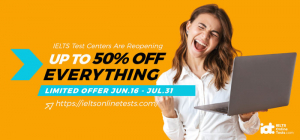 Limited Offer - Up to 50% off everything (June 16-July 31)