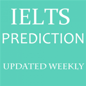 IELTS Prediction in July-Sept 2020