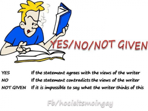 How to Do Yes No Not Given Questions in IELTS Reading?